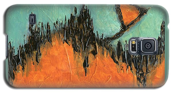 Rising Hope Abstract Art Galaxy S5 Case
