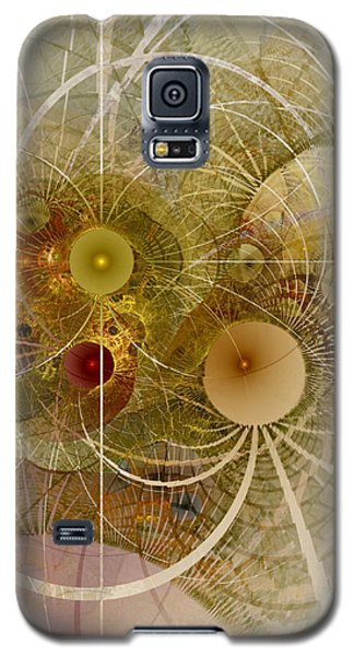 Galaxy S5 Case featuring the digital art Rising Spring - Fractal Art by NirvanaBlues