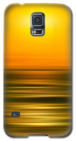 Surrealism Galaxy S5 Case - Rising Sun by Az Jackson