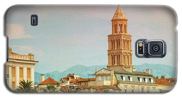 Riva Waterfront, Houses And Cathedral Of Saint Domnius, Dujam, D Galaxy S5 Case