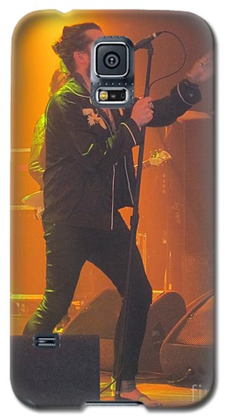 Galaxy S5 Case featuring the photograph Rival Sons Jay Buchanan by Jeepee Aero
