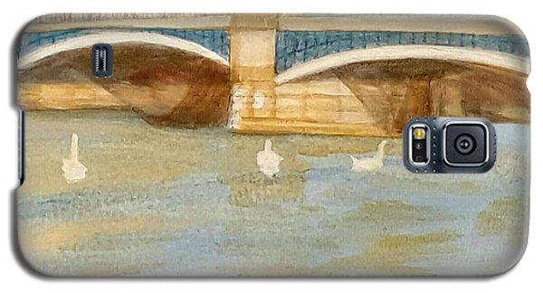 River At Royal Windsor Galaxy S5 Case