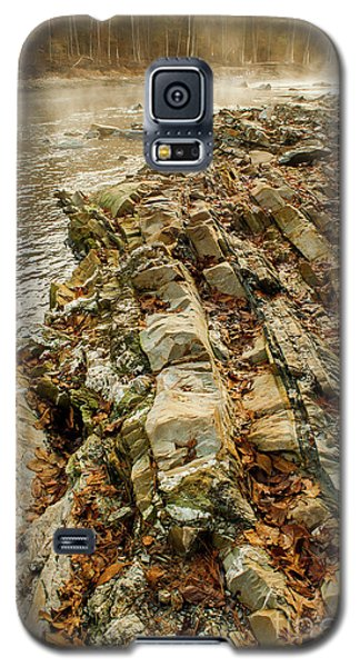Galaxy S5 Case featuring the photograph River Bank by Iris Greenwell