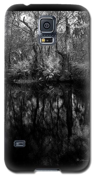 Galaxy S5 Case featuring the photograph River Bank Palmetto by Marvin Spates