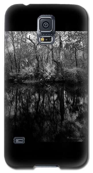 River Bank Palmetto Galaxy S5 Case by Marvin Spates