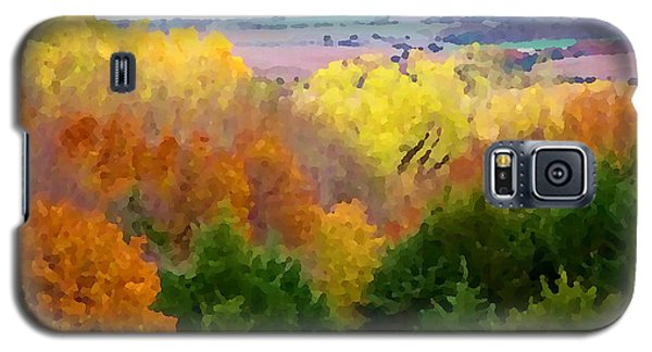 River Bottom In Autumn Galaxy S5 Case