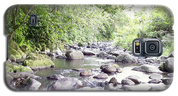 River In Adjuntas Galaxy S5 Case