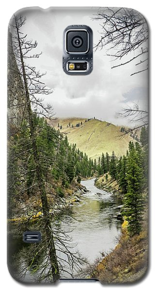 River In The Canyon Galaxy S5 Case