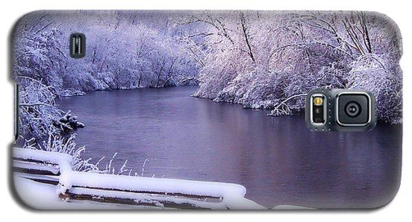 River In Winter Galaxy S5 Case