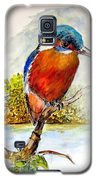 River Kingfisher Galaxy S5 Case