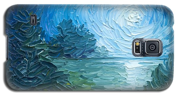 River Moon Galaxy S5 Case by James Christopher Hill