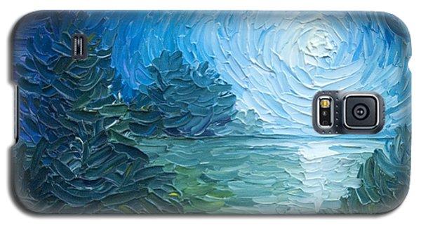 River Moon Galaxy S5 Case