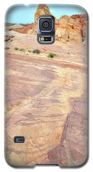 Galaxy S5 Case featuring the photograph River Of Color In Valley Of Fire by Ray Mathis
