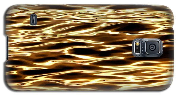 Surrealism Galaxy S5 Case - River Of Gold by Az Jackson