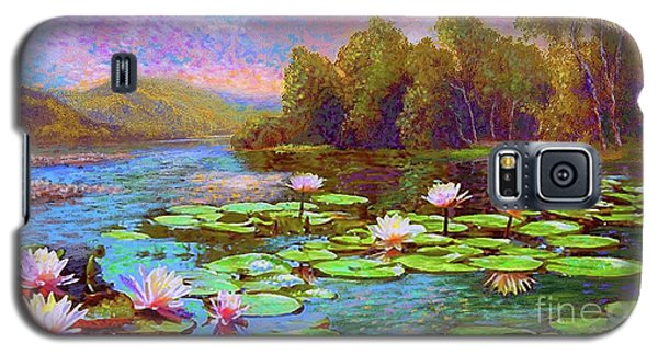 The Wonder Of Water Lilies Galaxy S5 Case