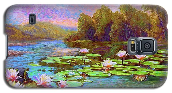 Lily Galaxy S5 Case - The Wonder Of Water Lilies by Jane Small