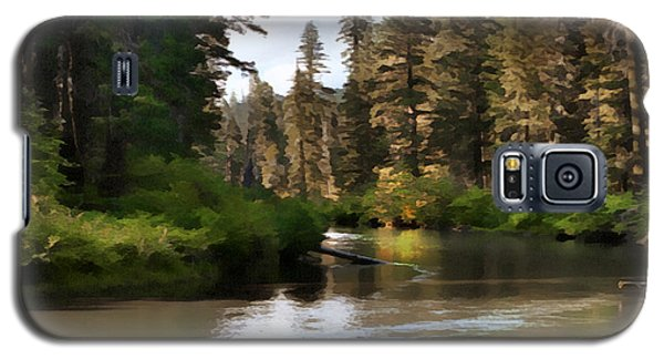 Millers Creek Painterly Galaxy S5 Case by Peter Piatt
