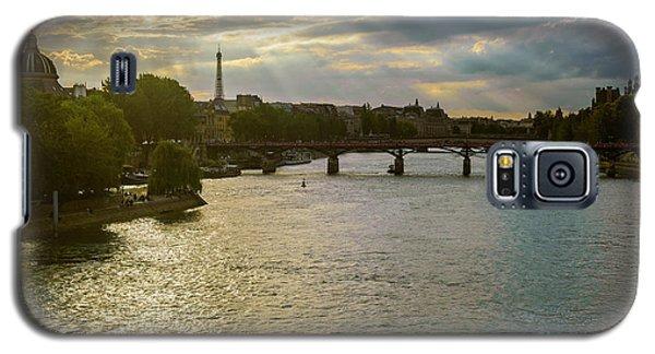 River Seine At Dusk Galaxy S5 Case