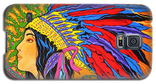 River Song  Galaxy S5 Case by Debbie Chamberlin