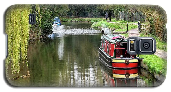 Galaxy S5 Case featuring the photograph River Stort In April by Gill Billington