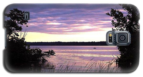 River Sunrise Galaxy S5 Case
