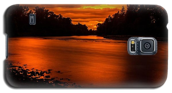 River Sunset 2 Galaxy S5 Case