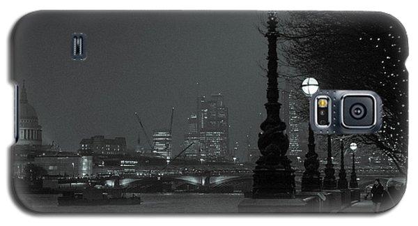 River Thames Embankment, London 2 Galaxy S5 Case