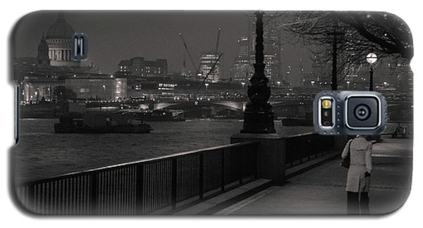 River Thames Embankment, London Galaxy S5 Case