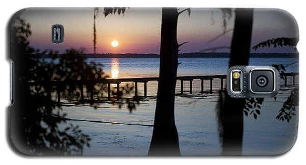 Riverside Sunset Galaxy S5 Case