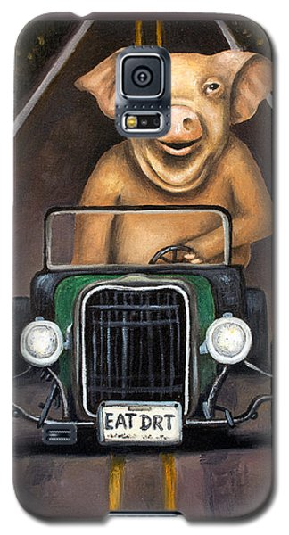 Road Hog Galaxy S5 Case by Leah Saulnier The Painting Maniac