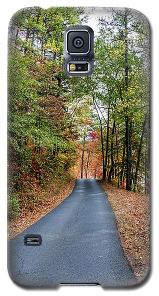 Road In The Woods Galaxy S5 Case