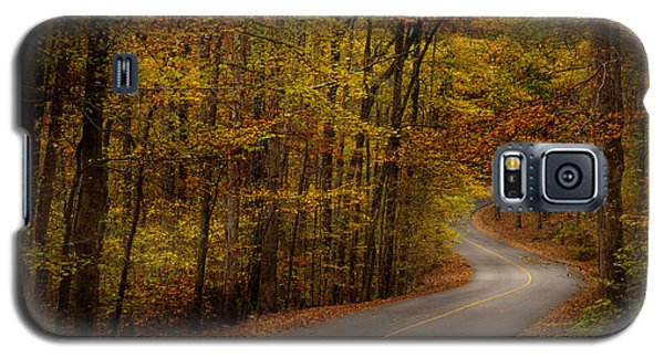 Galaxy S5 Case featuring the photograph Road Through Tishomingo State Park by T Lowry Wilson