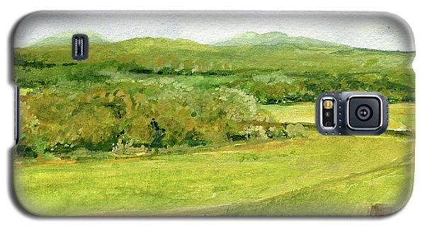 Road Through Vermont Field Galaxy S5 Case