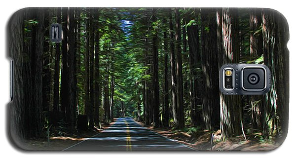 Road To Mendocino Galaxy S5 Case
