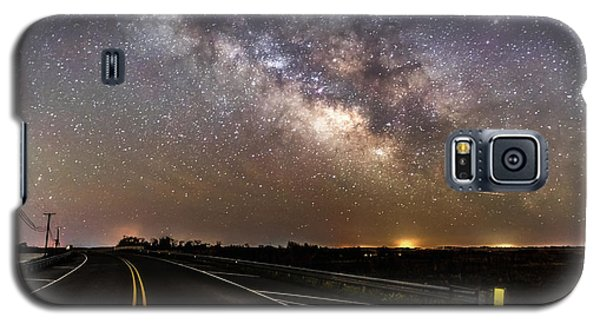Road To Milky Way Galaxy S5 Case