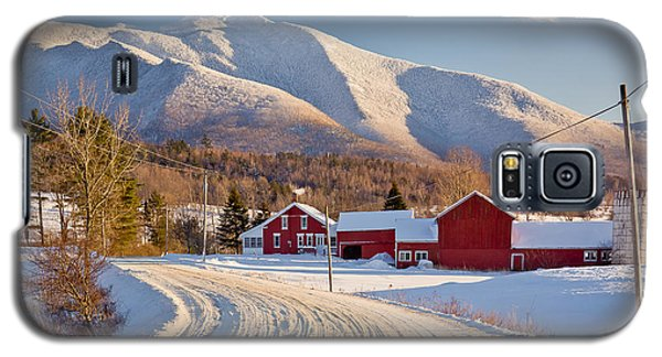 Road To Mount Mansfield Galaxy S5 Case