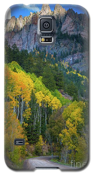 Road To Silver Mountain Galaxy S5 Case