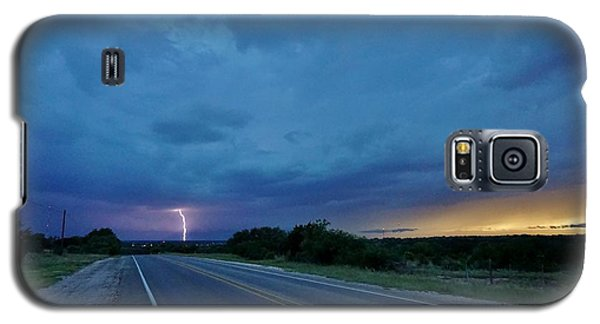 Lightning Over Sonora Galaxy S5 Case by Ed Sweeney