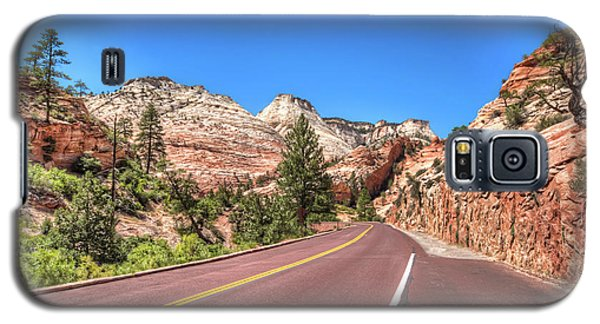 Galaxy S5 Case featuring the photograph Road To Zion by Brent Durken