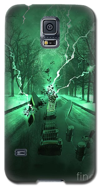 Galaxy S5 Case featuring the photograph Road Trip Effects  by Cathy  Beharriell