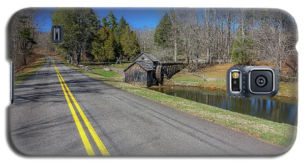 Road View Of Mabry Mill Galaxy S5 Case