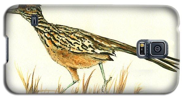 Roadrunner Bird Galaxy S5 Case by Juan Bosco