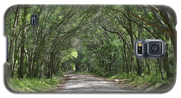 Galaxy S5 Case featuring the photograph Roadway To Mitchellville Beach by Carol  Bradley
