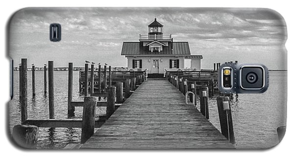 Roanoke Marshes Light Galaxy S5 Case by David Sutton