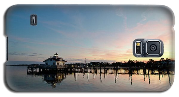 Roanoke Marshes Lighthouse At Dusk Galaxy S5 Case