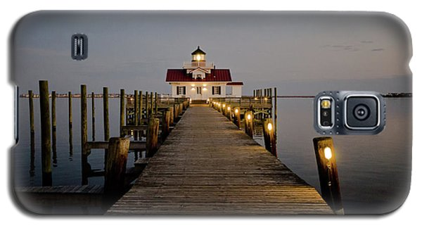 Roanoke Marshes Lighthouse Galaxy S5 Case
