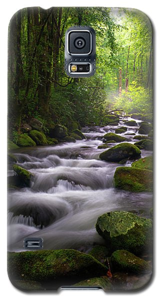 Great Smoky Mountains Roaring Fork Gatlinburg Tennessee Galaxy S5 Case
