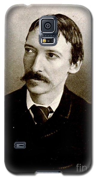 Galaxy S5 Case featuring the photograph Robert Louis Stevenson by Pg Reproductions