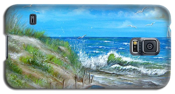 Robert Moses Beach Galaxy S5 Case by Patrice Torrillo