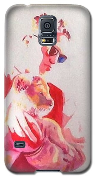 Robert Pattinson 311 Galaxy S5 Case by Audrey Pollitt